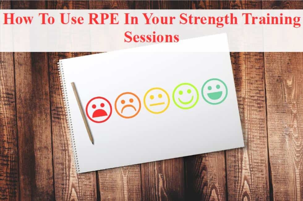 title pic rpe in strength training