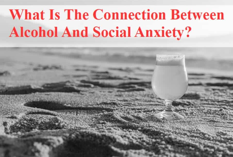 What is the connection between alcohol and anxiety?