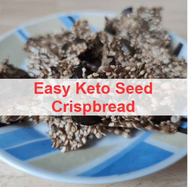 easy keto seed crsipbread title pic