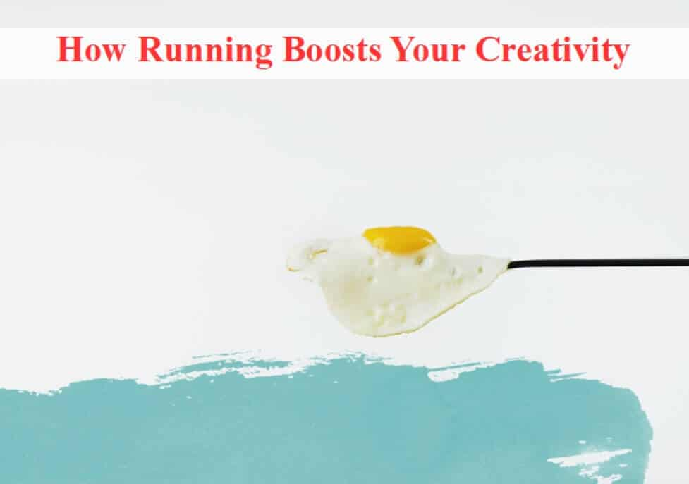 title pic running boosts creativity
