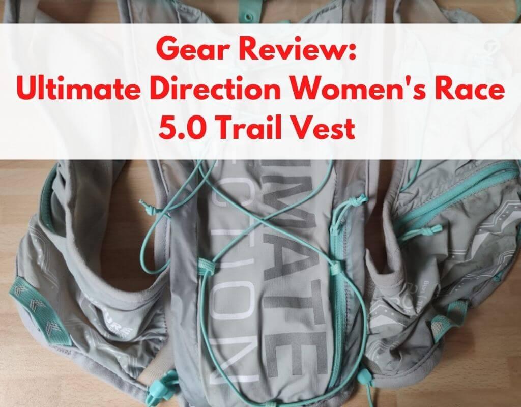 ultimate direction race vest - title pic